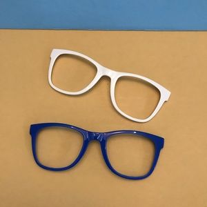 NEW CARRERA BLUE AND WHITE SUNGLASSES FRAMES